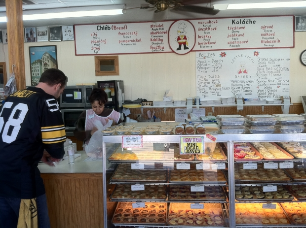 Pitstop for kolaches at the Czech Stop. West, TX